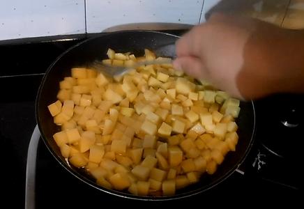 Fry Potato Dices