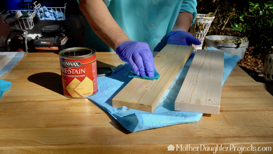 Cut and Stain Boards