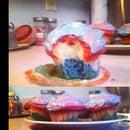 Tie-Dye Cupcakes
