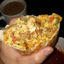 Bomb-est Breakfast Burrito Ever!