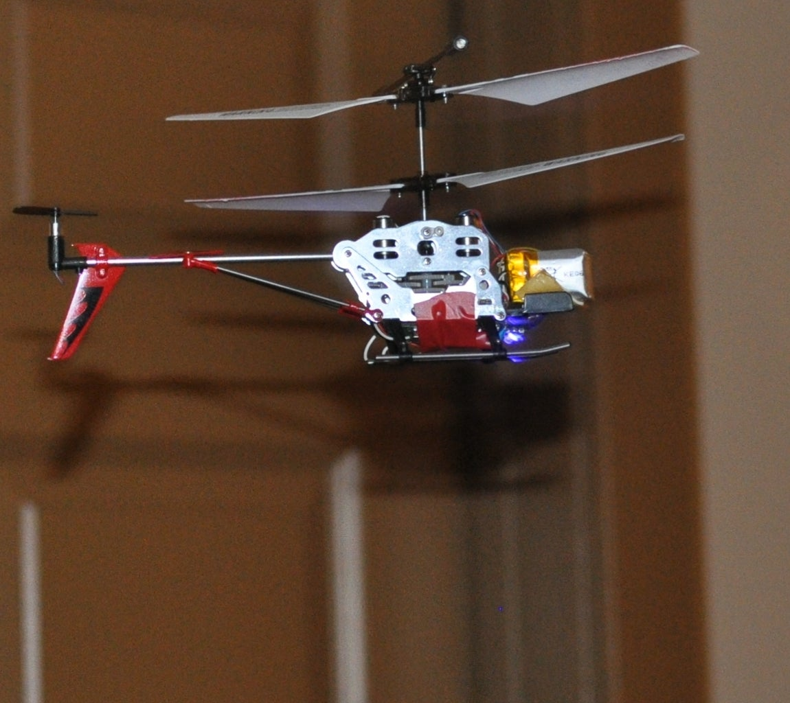 Add Radio to a Syma S107 IR Helicopter (or Any Other IR Device)
