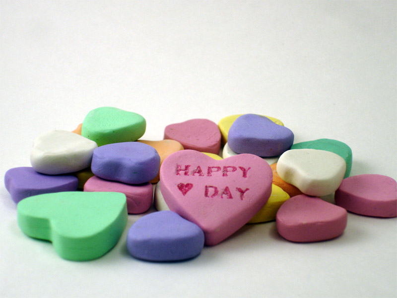 Polymer Clay Candy Hearts