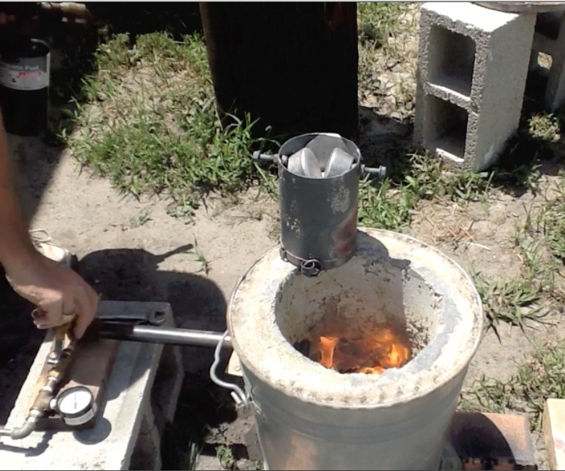 How To Build An Aluminum Foundry Furnace For Melting Metal