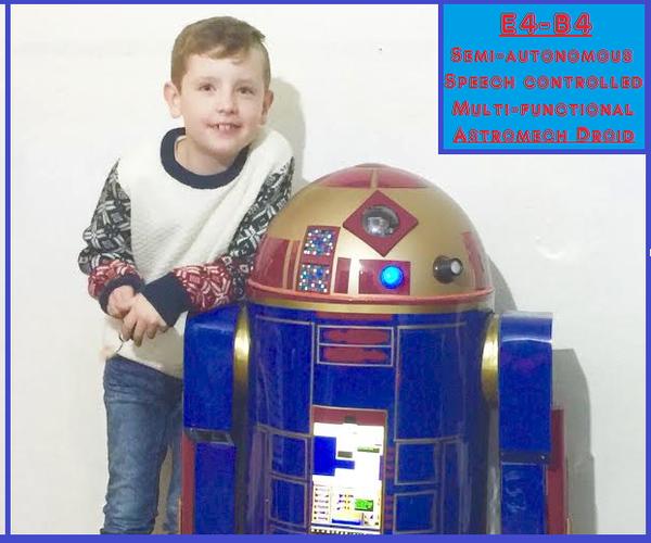 Multi-Functional Star Wars Astromech Droid