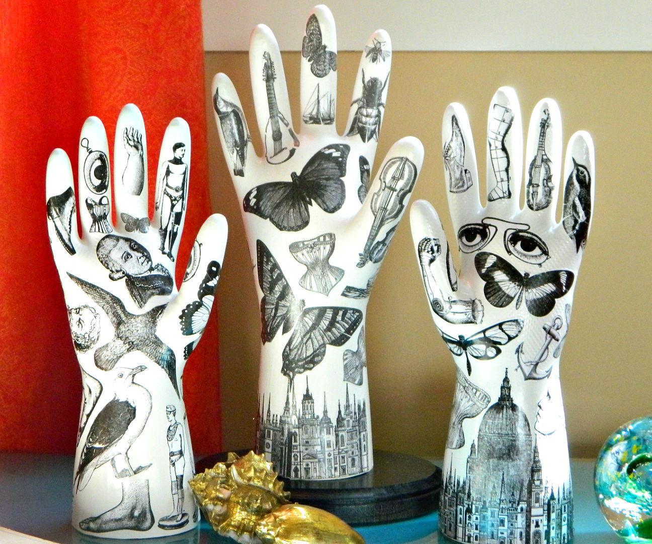 Tattooed Plaster Hands