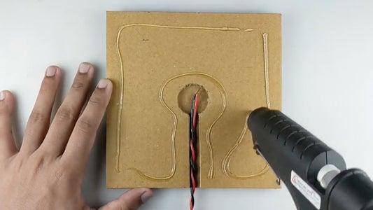 Apply Hot Glue (REFER VIDEO)