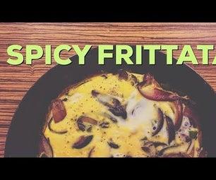 Quick Spicy Frittata