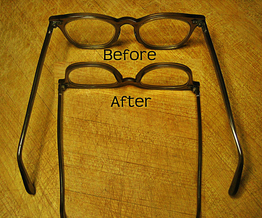 Fix Loose Eyeglasses with a Rubber Band
