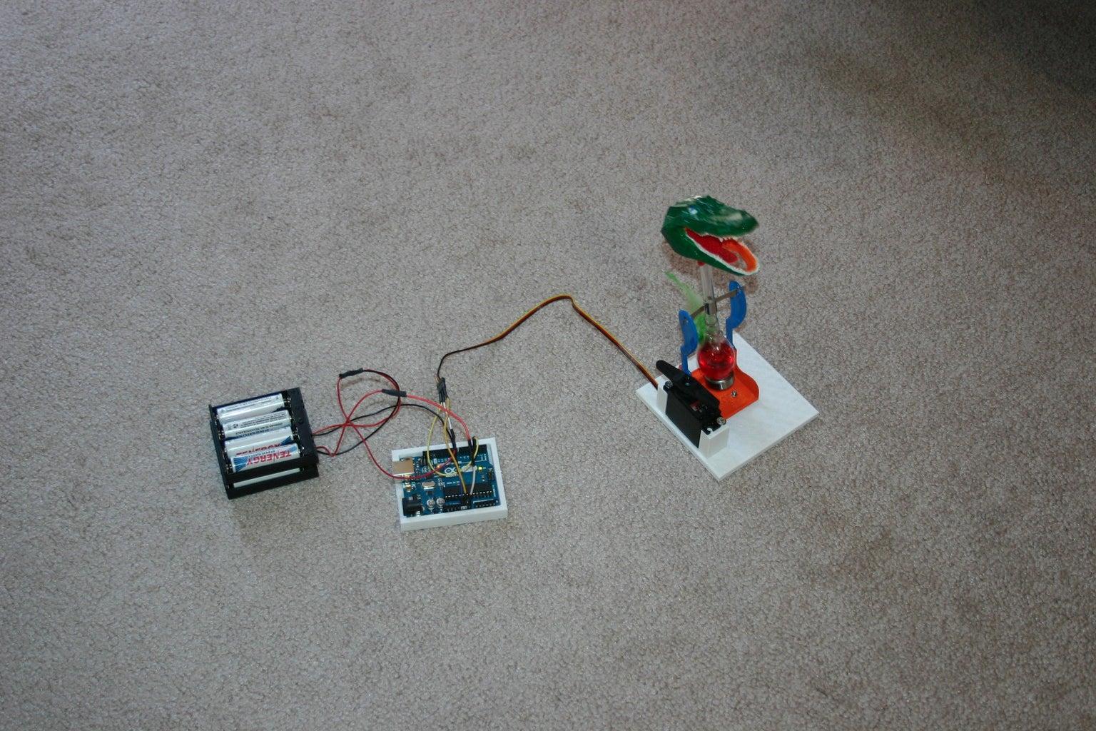 Computerized Bouncing Gator