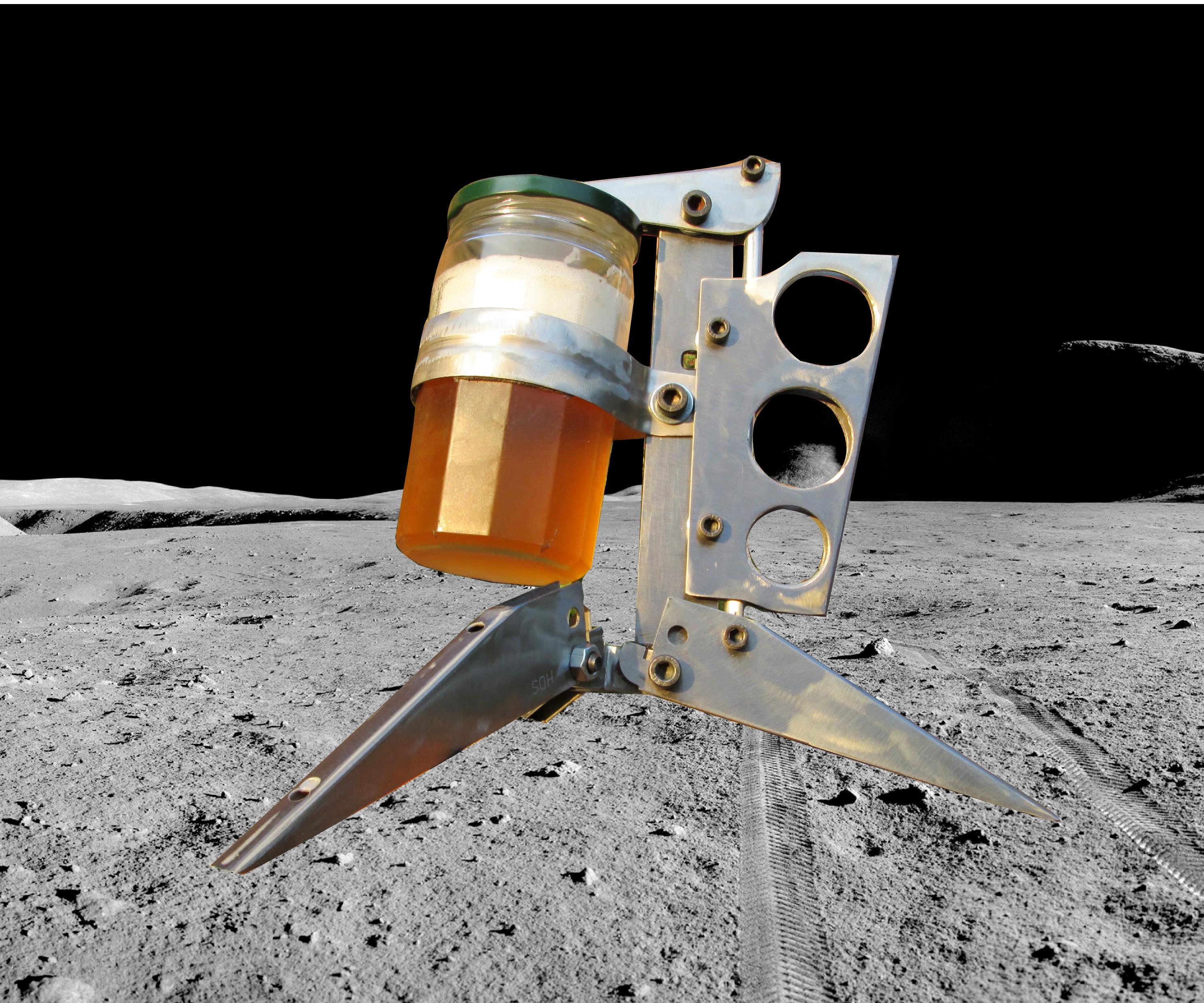 'Moon Lander' Mug (no welds, hacked hardware)