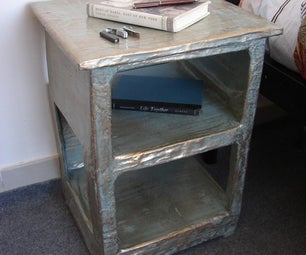How to Make a Papier Mache Side Table