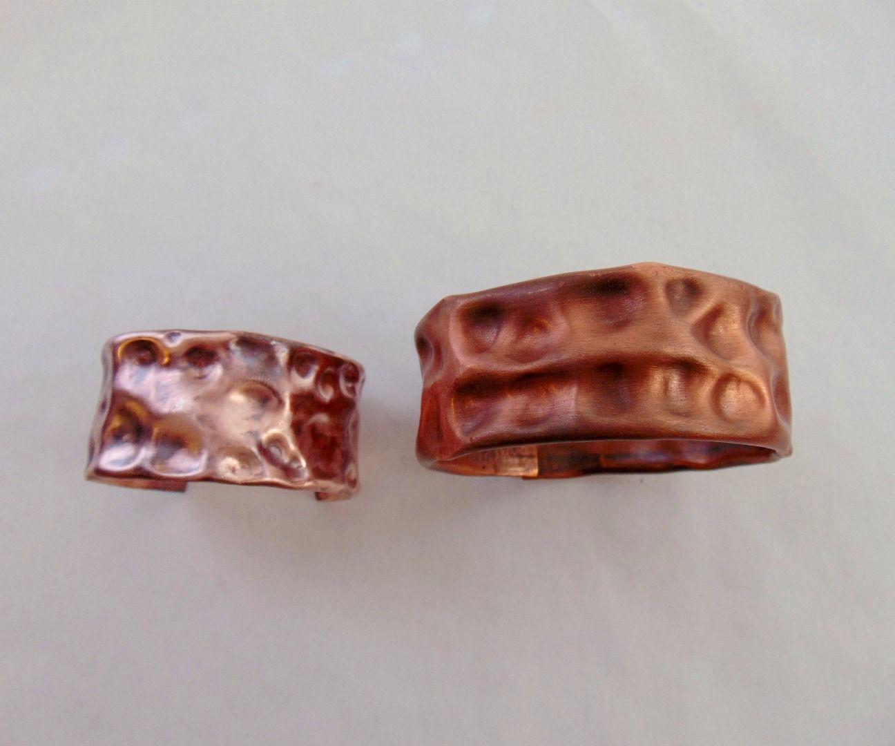 Repurposed Copper Tubing Bracelet