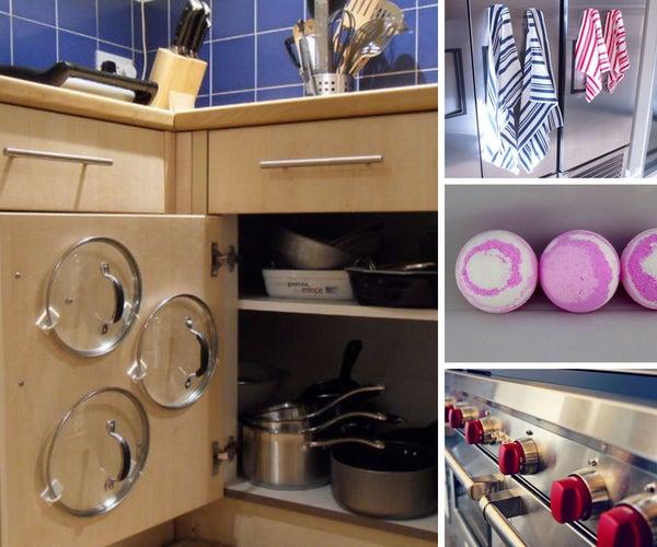 DIY Kitchen and Bathroom
