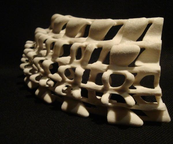 3D Printed Tile Aggregation