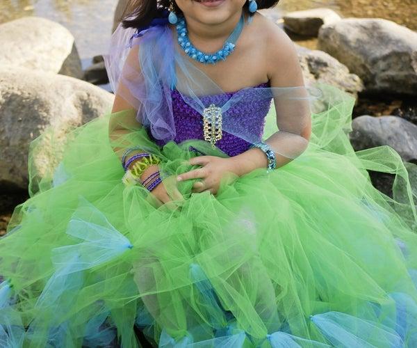 No Sew Mermaid Costume DIY
