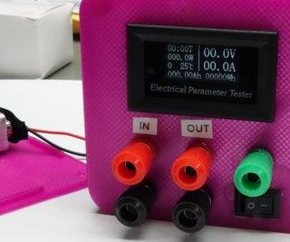 Versatile Volt, Ampere, and Power Meter