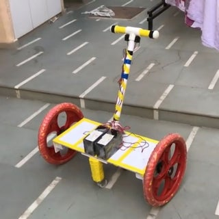 Homemade Hoverboard