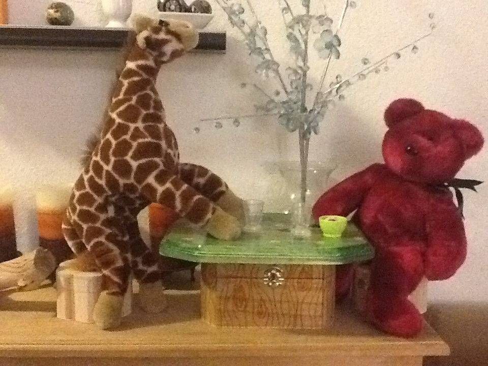 Tiny Treetop Table for Dolls or Stuffed Animals