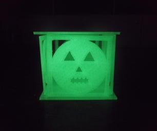 Artificial Jack-O'-lantern