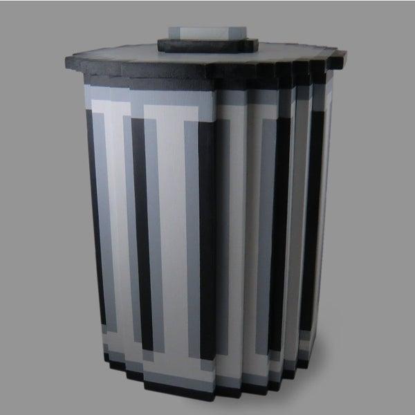 Pixel Trash Can