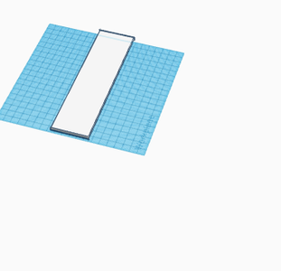 Tinkercad Bookend  Design