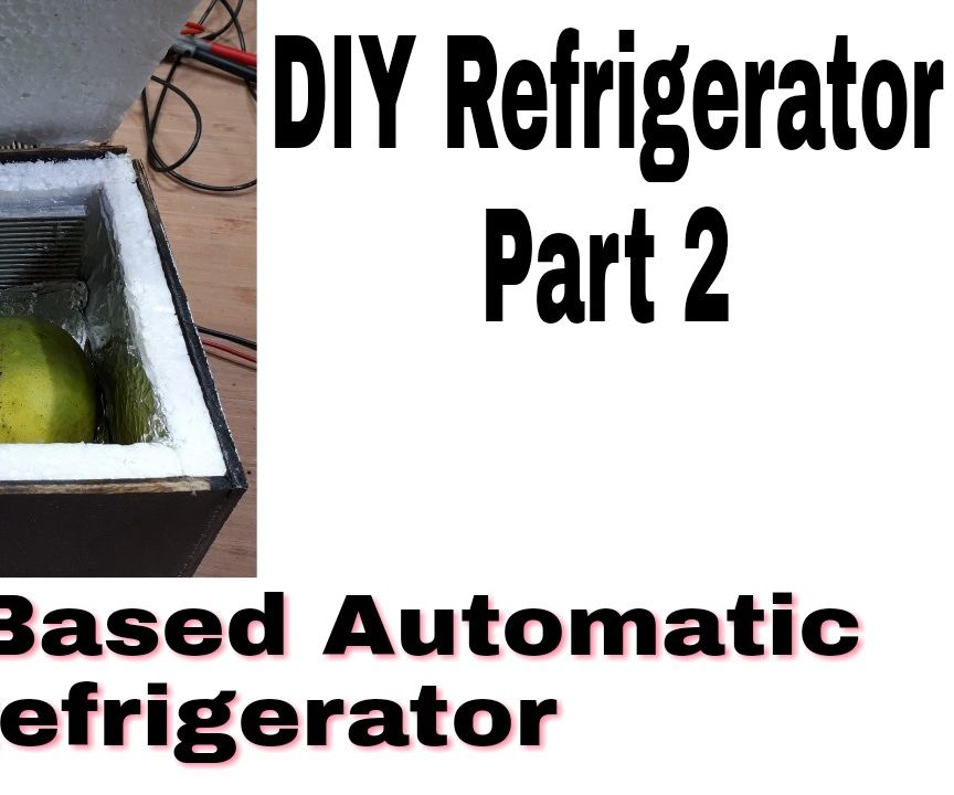Home Made Refrigerator With Smart Control Functionality (Deep Freezer)