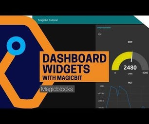 Use Dashboard Widgets With Magicbit [Magicblocks]