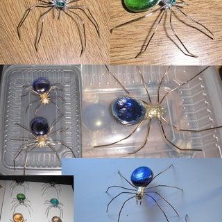 Glass Jewel Spiders