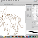 Drawing a donkey_ by Photoshop