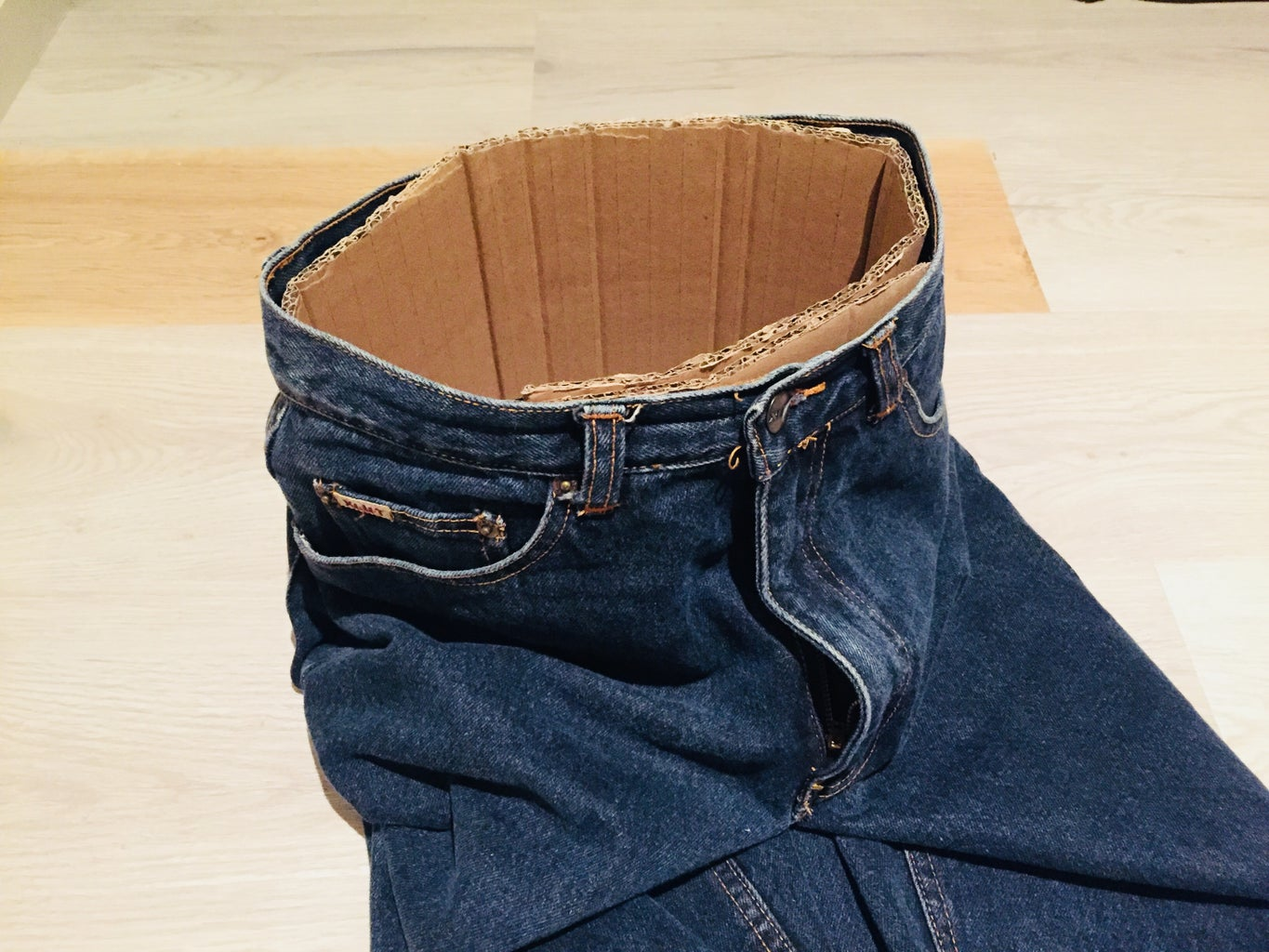 Making the Base of the Waist