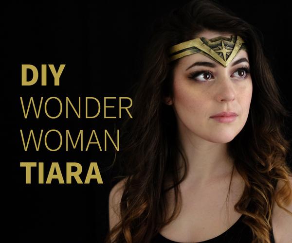 DIY Wonder Woman Tiara