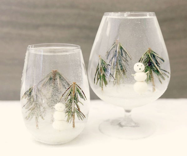 Snow Globe Cocktail