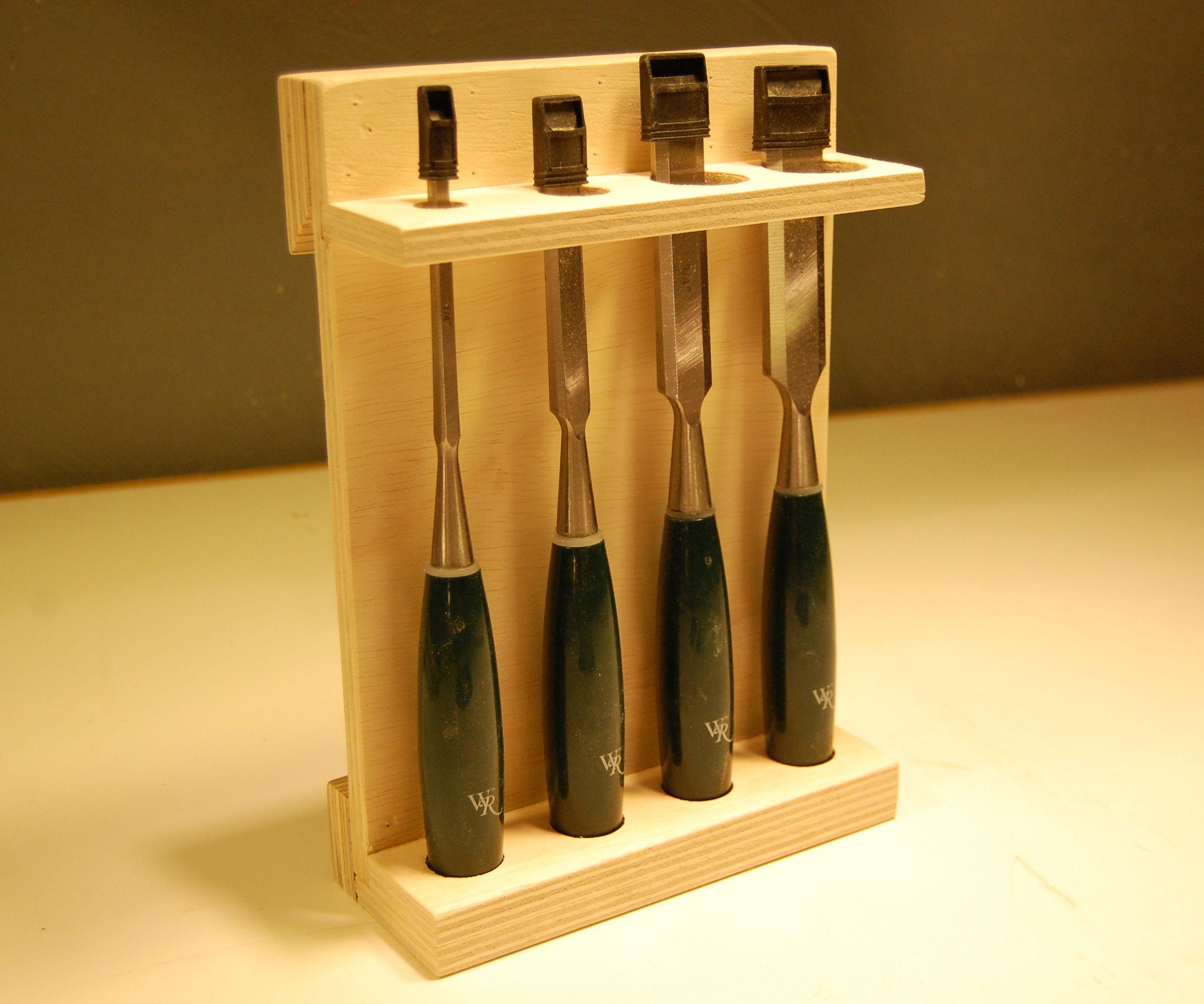 The Chisel Storage Rack