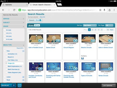 Navigate to Discovery Education and Download an Image