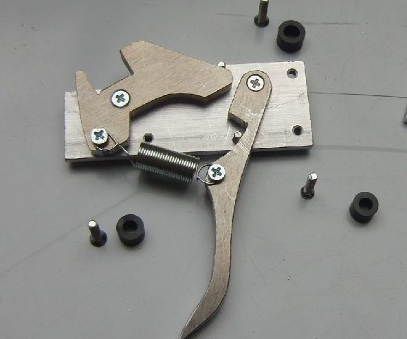 Crossbow Trigger Mechanism (simple But Sturdy)