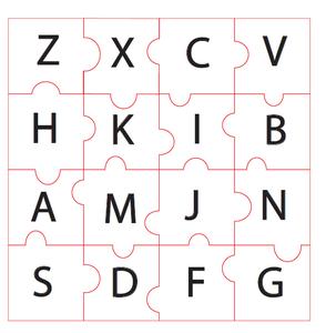 Design a Puzzle in Adobe Illustrator