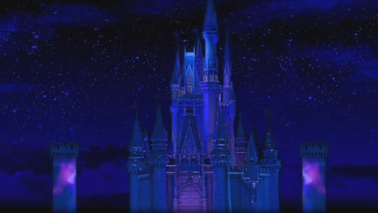 DIY Disney Castle Projection Mapping