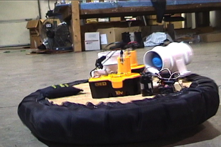 Homebrew Remote Control Hover Craft (Drill Battery Powered)