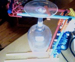 Knex Wineglass Holder
