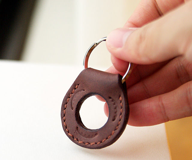 How to Make a Perforated Key Ring Tags