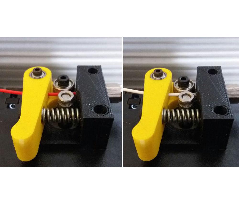 """Função """"Trocar Filamento"""" (durante a Impressão) - Mousta - Linha Builder"""