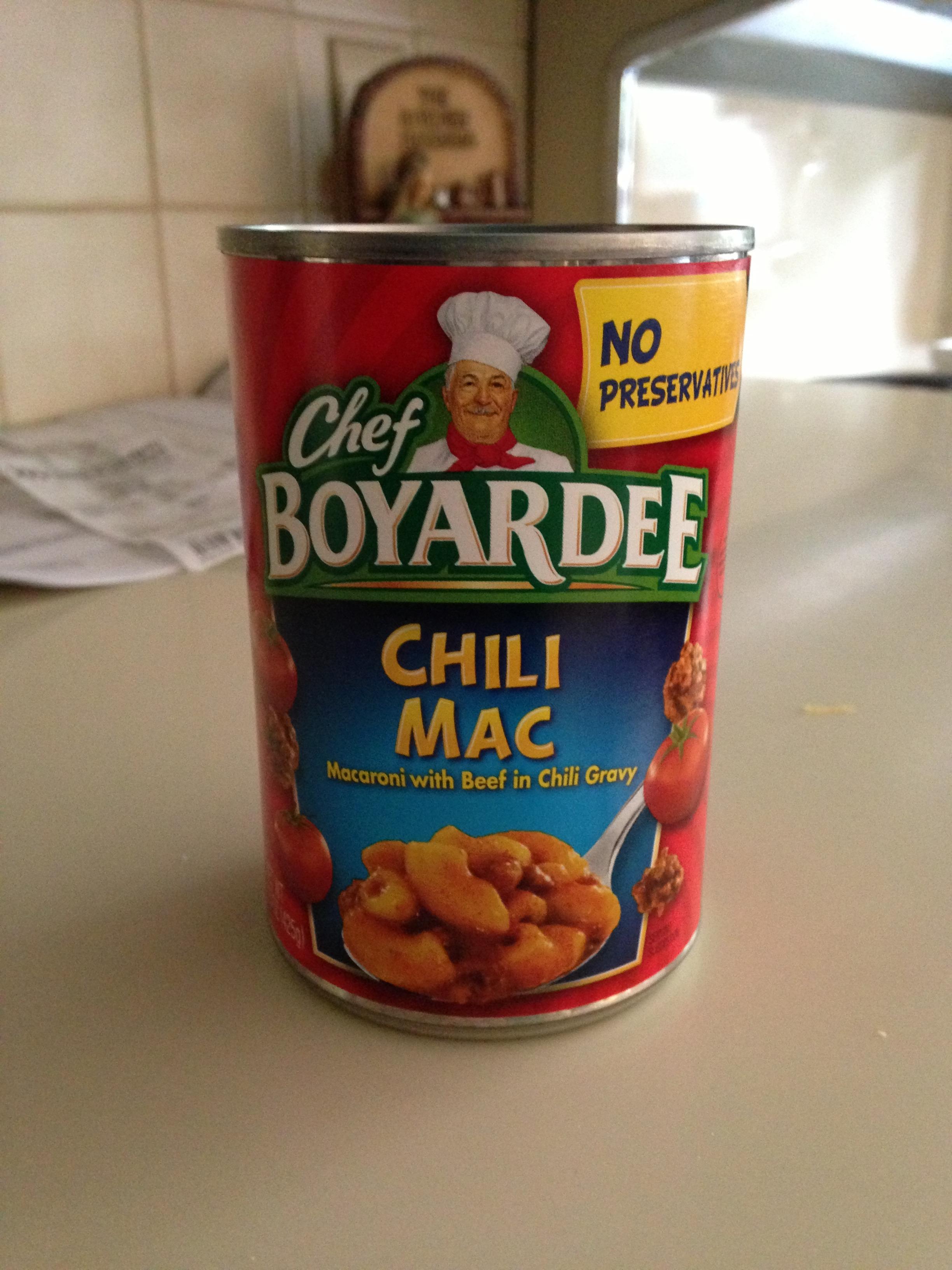 How To Eat Chef Boyardee