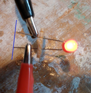 Test the LED