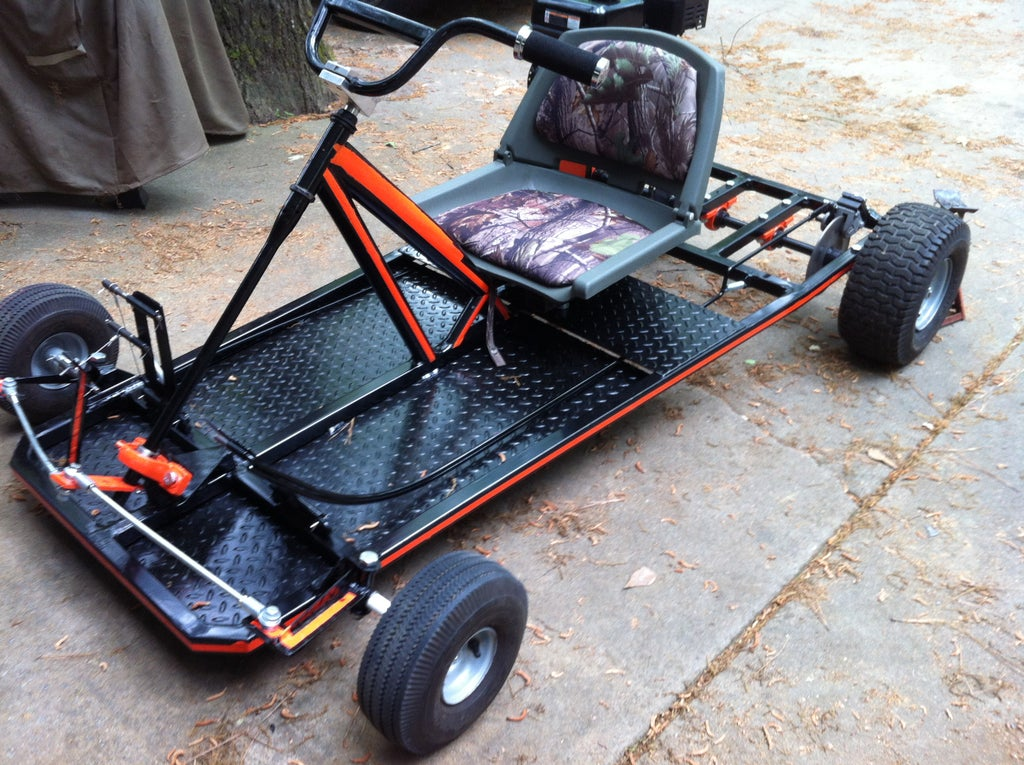 How To Make A Go Kart 14 Steps With Pictures Instructables
