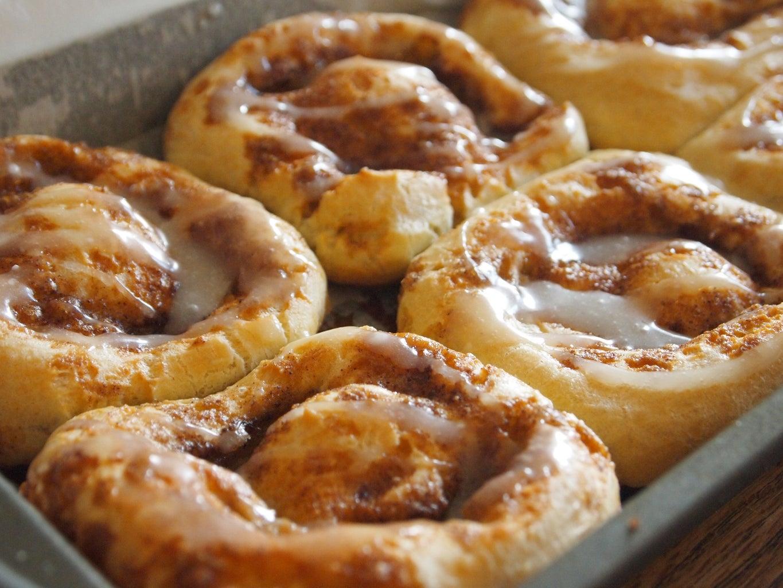 Glaze for the Paleo Gluten & Dairy-Free Cinnamon Rolls