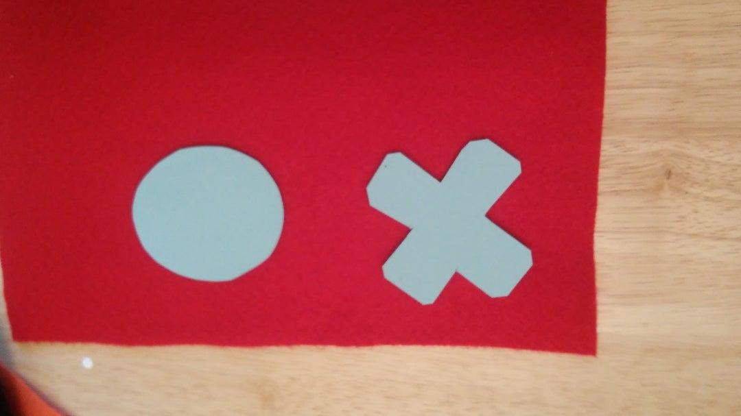 Cut Out Tic Tac Toe Pieces