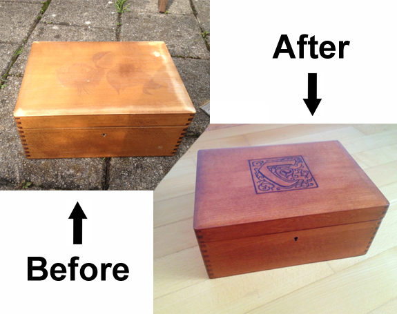 Refurbish a Box for Carcassonne Game