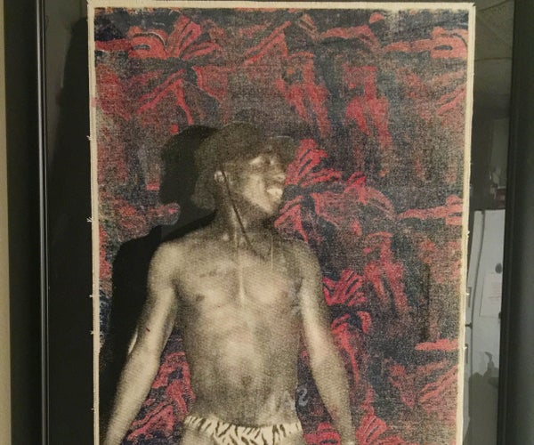 Silkscreen Printing on Canvas