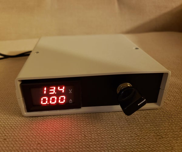 USB Variable Voltage Power Supply