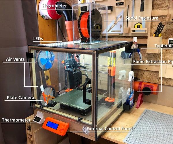 An Enclosure for a Prusa Printer